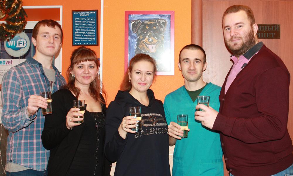 Поздравления руководства Айболит ПЛЮС