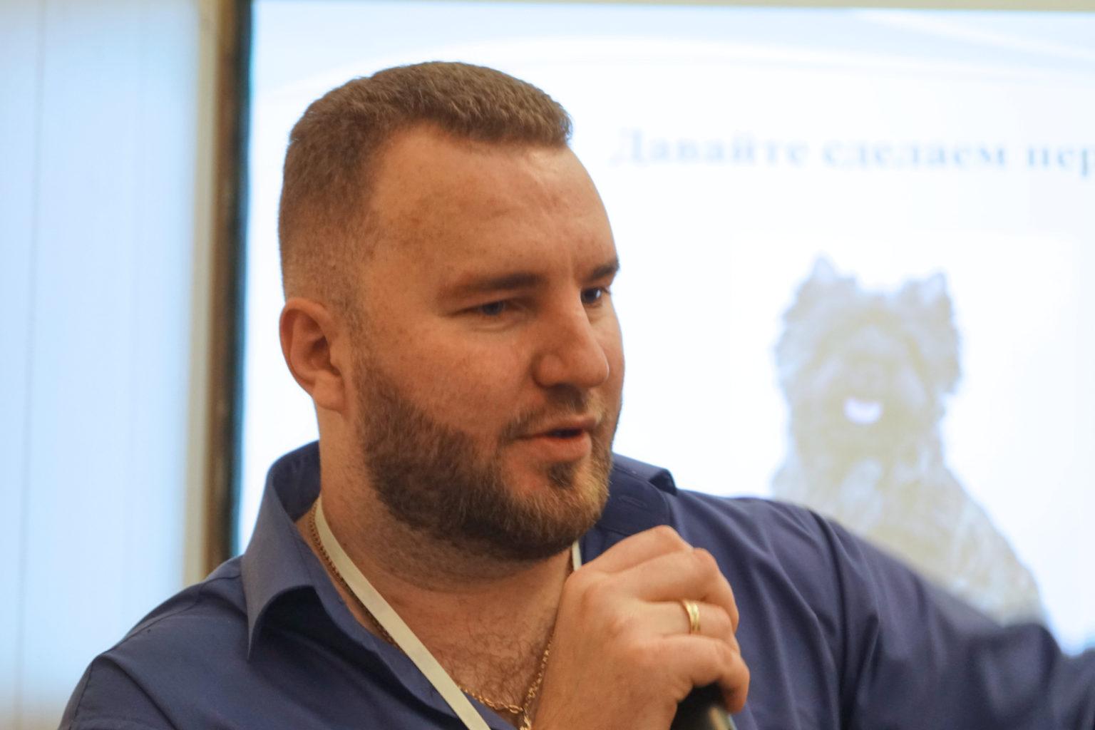 """Директор """"Айболит Плюс"""" Федосеев Дмитрий Олегович на Национальной Ветеринарной конференции NVC-2016."""