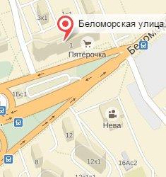 Ветеринарная клиника Айболит плюс на Беломорской улице